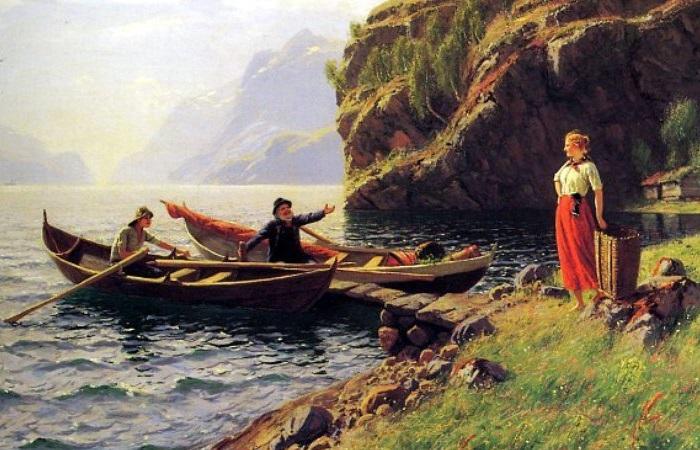 Как норвежцы Поморье осваивали: российское подданство, контрабанда и тюленьи войны. Картина Ханса Даля.