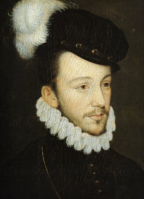 Портрет юного Генриха Валуа.