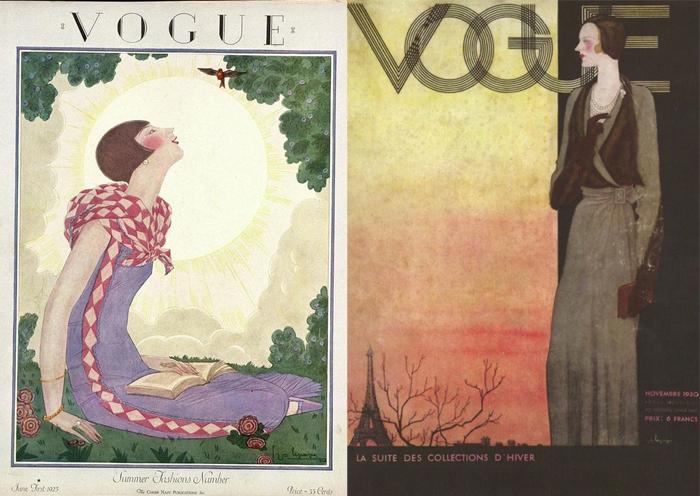 В иллюстрациях Лепапа всегда была сюжетность, героини интриговали зрителя.