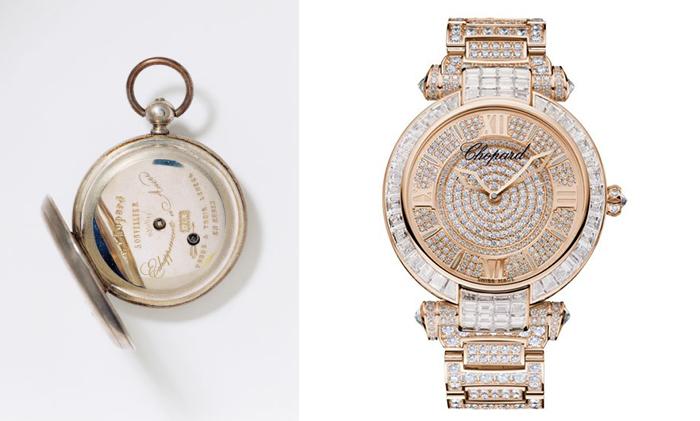 Современные и старинные часы Chopard.