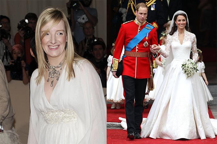Любимый дизайнер Кейт Миддлтон: Как Сара Бертон спасла дело своего учителя и возглавила бренд Alexander McQueen