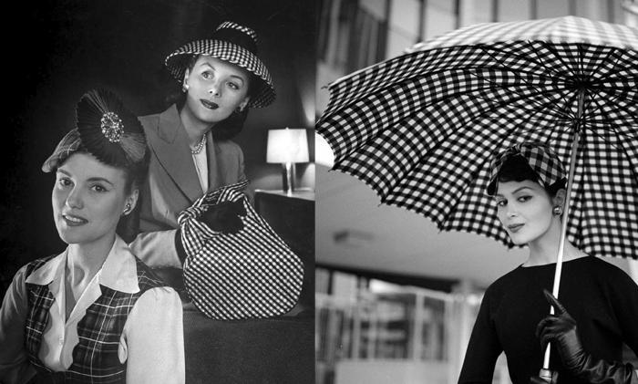 Модели в повседневных шляпках.