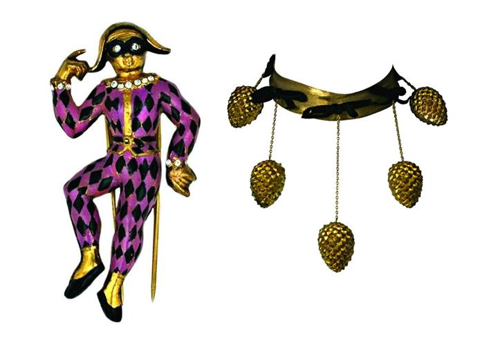 Украшения из цирковой коллекции.