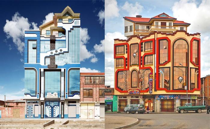 Фредди Мамани с юности мечтал создавать истинно боливийскую архитектуру.