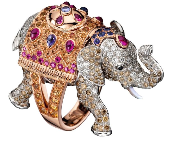 Украшение Boucheron в индийском стиле.