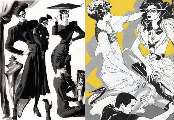 Иллюстрации Антонио Лопеса.