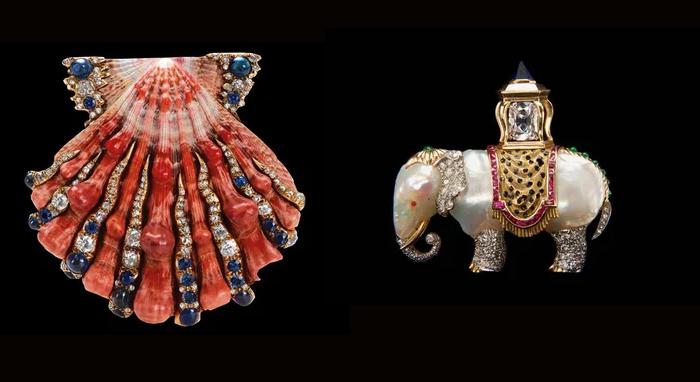 Слона в зверинце детей ди Вердура не было - но забавные животные стали одной из любимых тем ювелира.