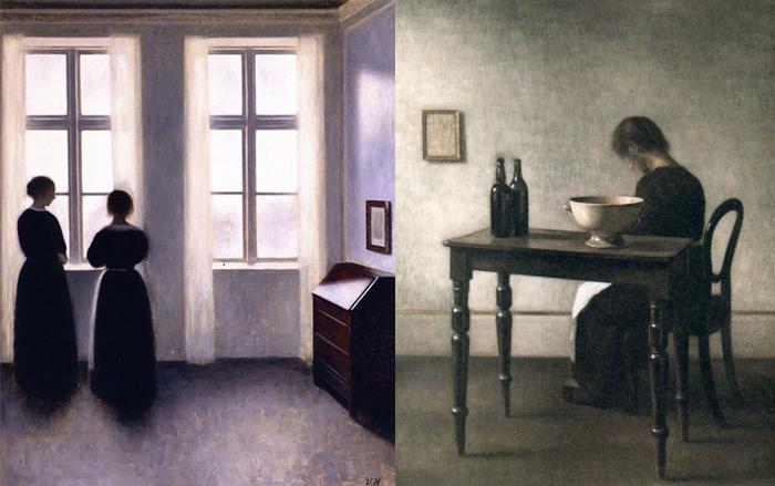 Хаммерсхей был в курсе существующих течений в живописи, но не следовал им.