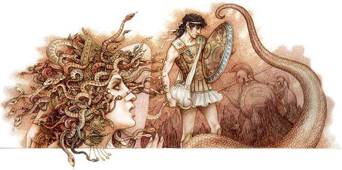 Иллюстрации к древнегреческим мифам.