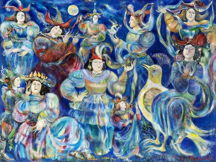 Гаянэ Хачатурян писала в стиле магического реализма.
