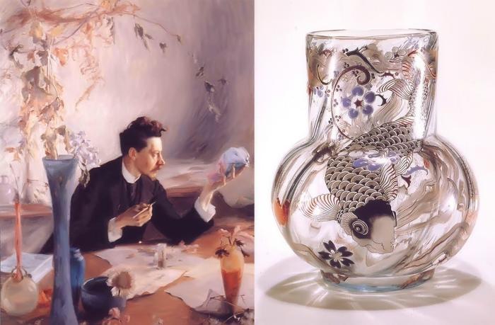 Эмиль Галле - художник, дизайнер, ученый и филантроп.