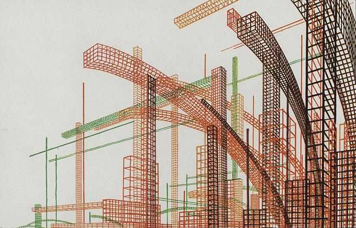Ритм индустриальных конструкций.