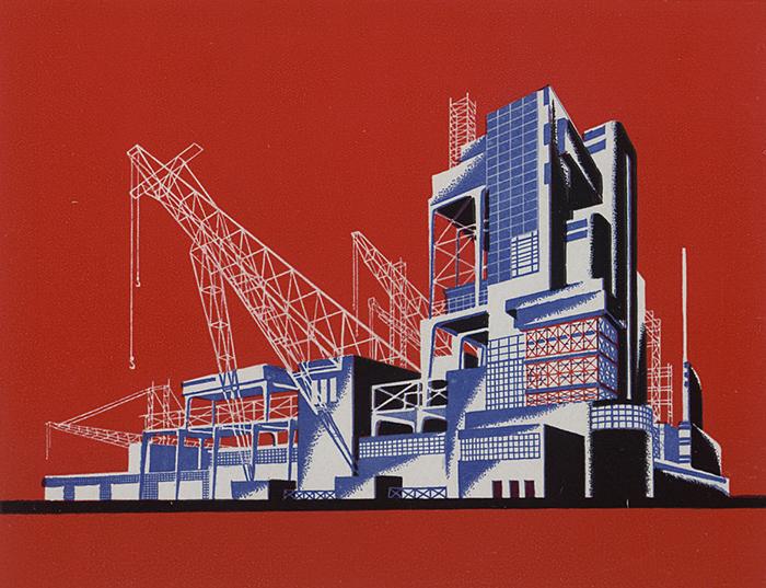 Чернихов преподавал графику и проектирование всю свою творческую жизнь.