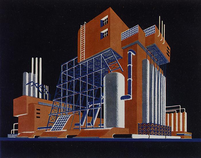 У Чернихова было свое понимание красоты архитектуры.