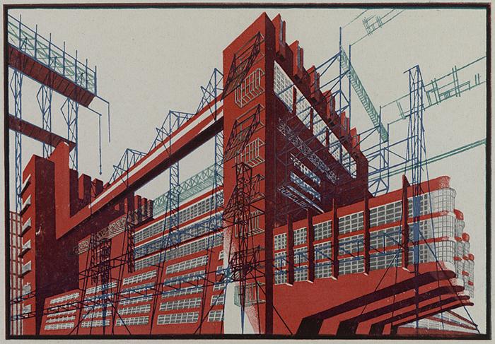 Индустриальная архитектура будущего.