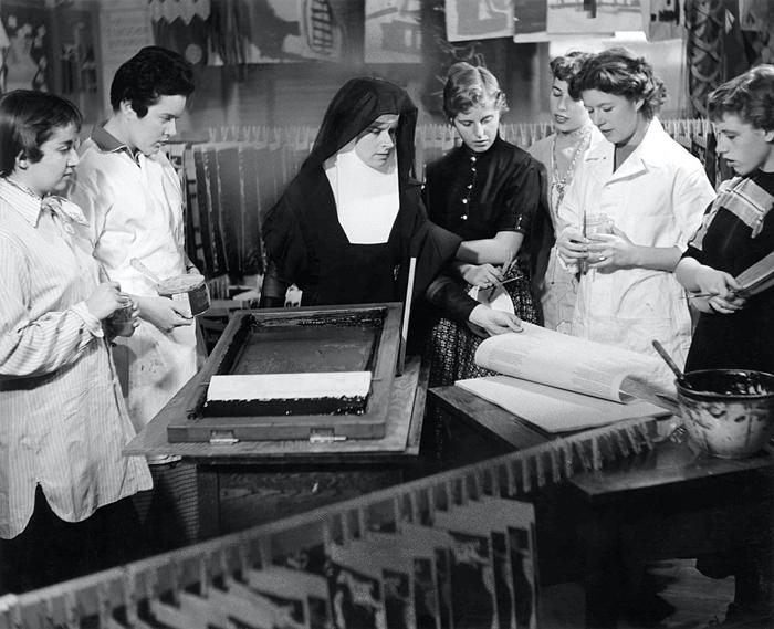 Сестра Кент за работой.