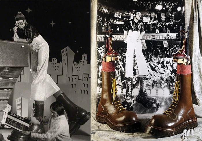 Ботинки персонажа Элтона Джона.