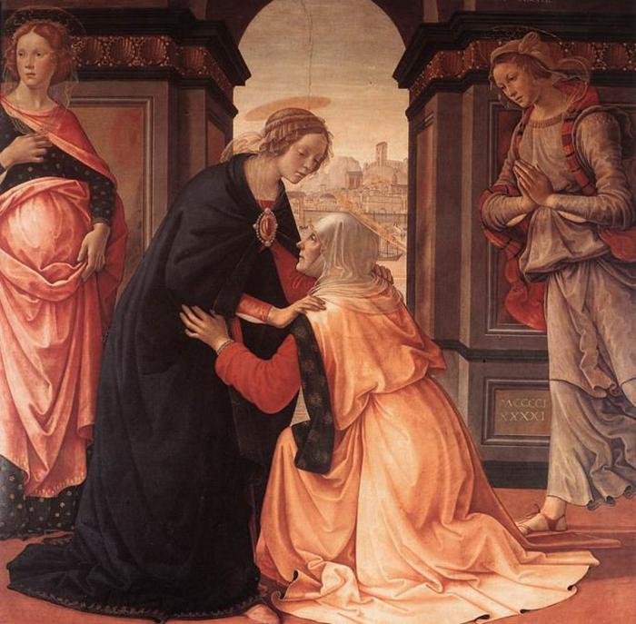 Встреча Марии и Елисаветы.