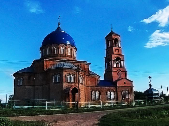 Троицкий храм в Утевке.