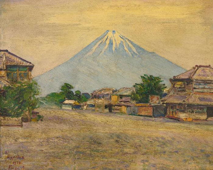 Гора Фудзи, Япония.