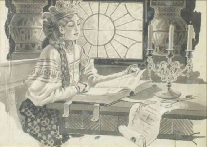 Соломко оказался в авангарде русских дореволюционных иллюстраторов...