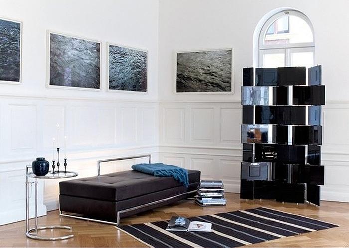 Мебель и ковер от Эйлин Грей.