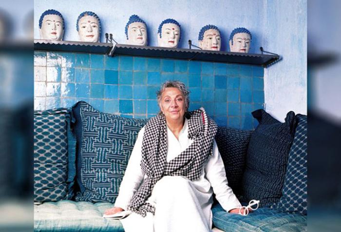 Паола Навоне и коллекция керамики.
