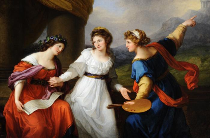 Как несостоявшаяся певица стала самой знаменитой художницей XVIII века: «Кауфман, подруга муз»