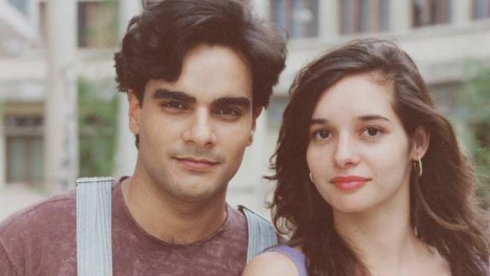 Гильерме де Падуа и Даниэла Перес во время совместных съемок.