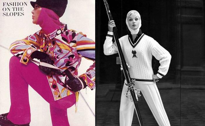 Спортивные костюмы от Пуччи.
