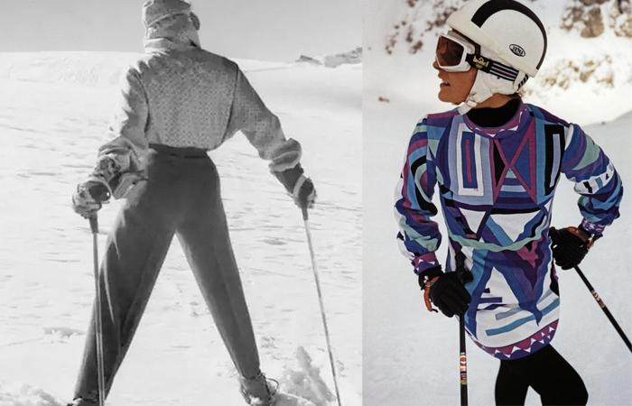Лыжные костюмы от Пуччи.