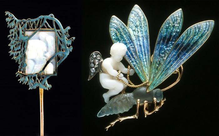 Рене Лалик использовал необычные мотивы и материалы.