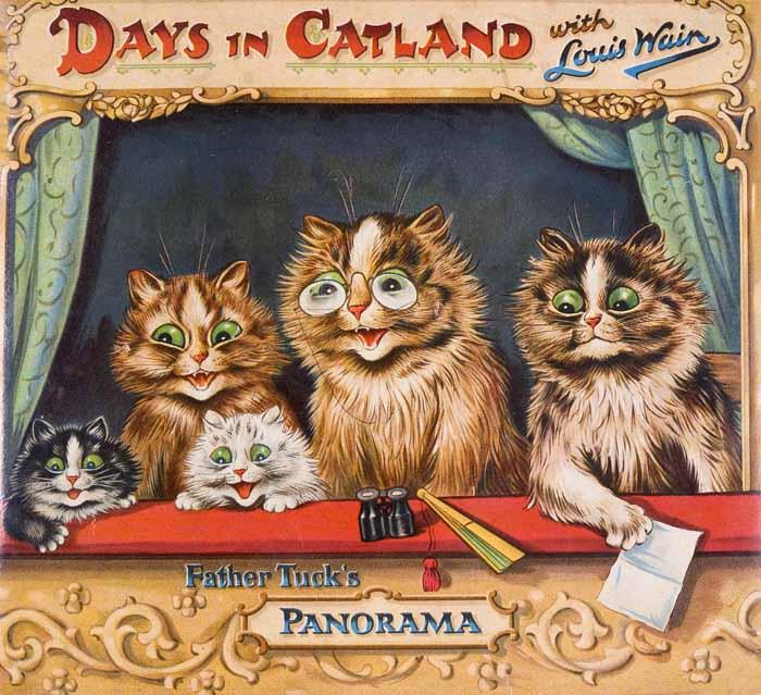 Кошки Уэйна жили совсем человеческой жизнью...