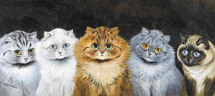 Рисунок Луиса Уэйна.