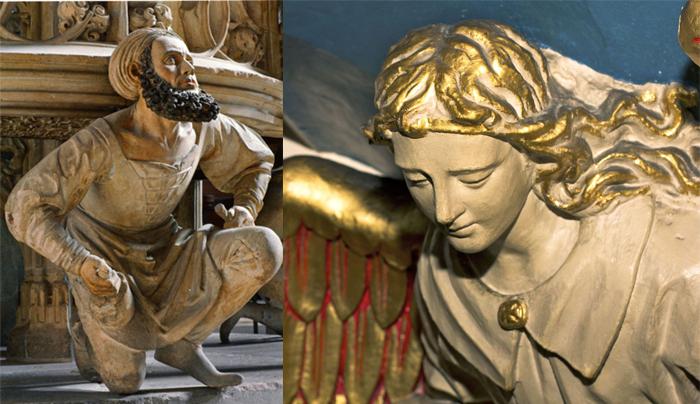 Церковные скульптуры, придуманные Пьюджином.