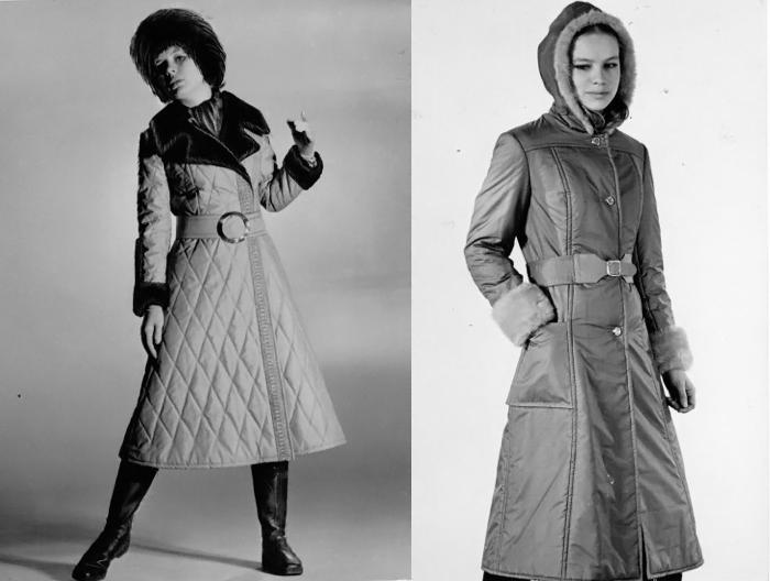 Пальто от Левашовой пользовались огромной популярностью.