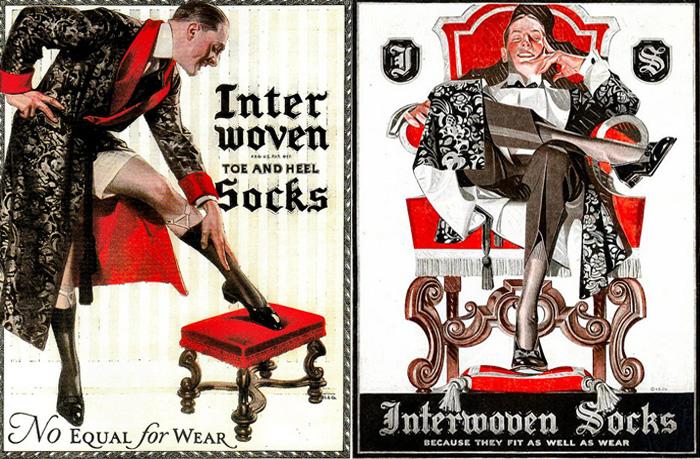 Рекламные плакаты Дж.К.Лейендекера.