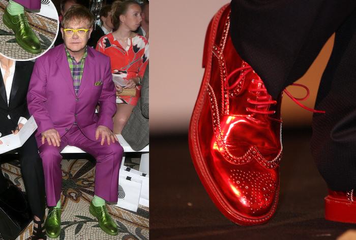 Сегодня музыкант предпочитает более простую обувь.