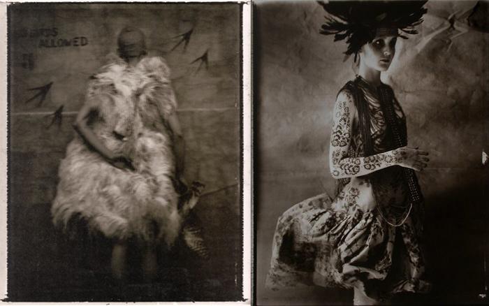 Сара называет фотографии призраками прекрасного.