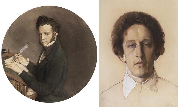 Поэты прошлого и настоящего - Пушкин и Блок