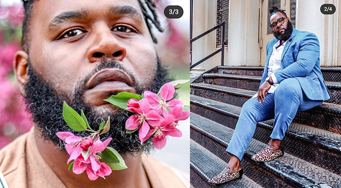 Но без цветочков в бороде не обойтись!