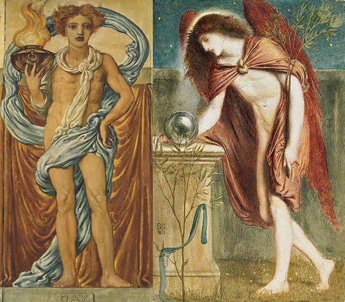 Симеон Соломон воплощал в живописи свои духовные идеалы - не только эстетические и эротические.