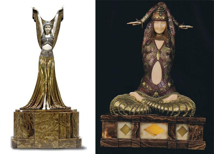 Египетская тема принесла славу Чипарусу.