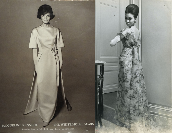 Слева - Жаклин Кеннеди.