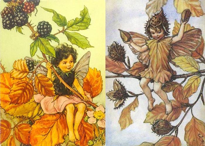Баркер с точностью воспроизводила особенности растений.