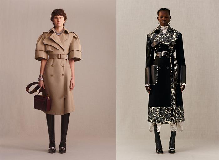 Фотографии из лукбука Alexander McQueen. Коллекция Сары Бертон.