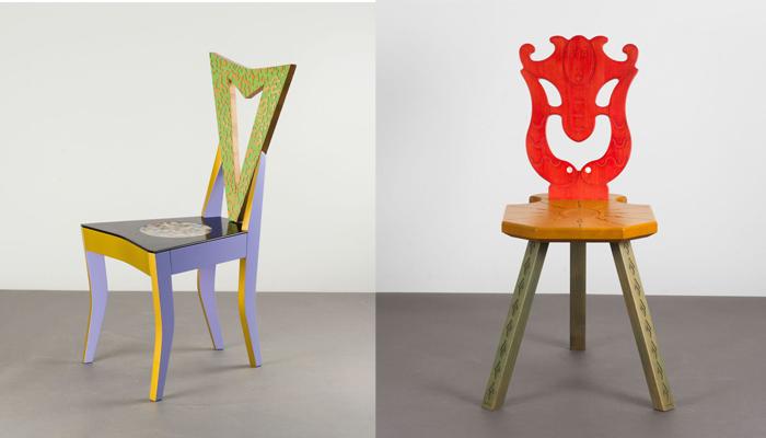 Экспрессивные стулья Мендини.