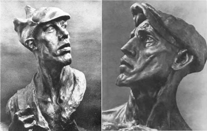Скульптуры Ивана Шадра.
