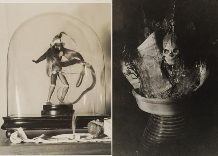 Натюрморты Клод Каон - размышления о смерти.