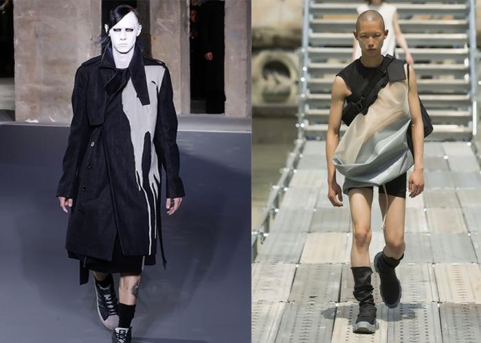 Рик Оуэнс - настоящий бунтарь модной индустрии.